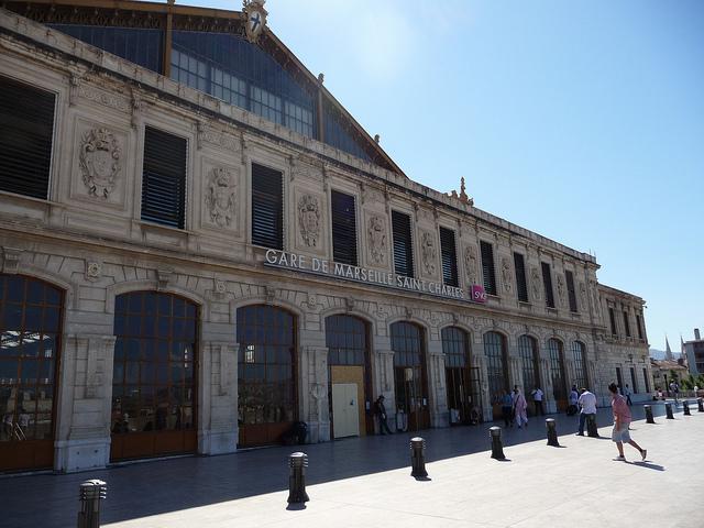 La gare saint charles - Marseille