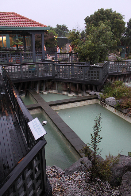 New Zealand: Polynesian Thermal Spa in Rotorua