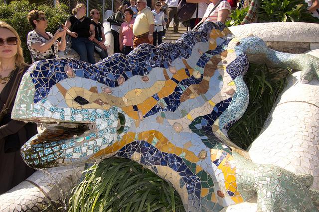 Gaudi lizard