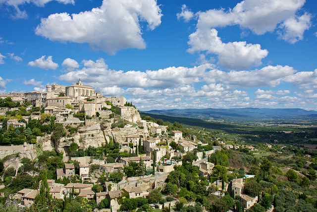 The village of Gordes, in Provence, France.