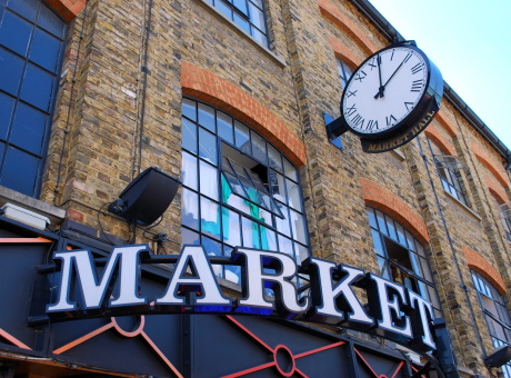 Camden Town Market, London