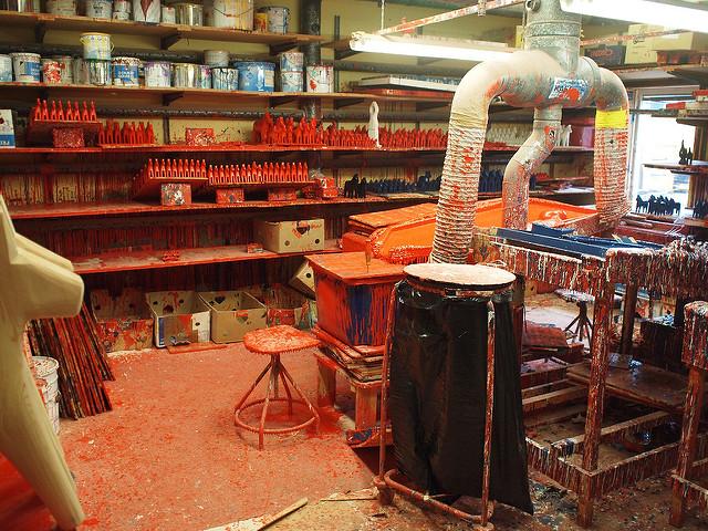 Dalahäst factory