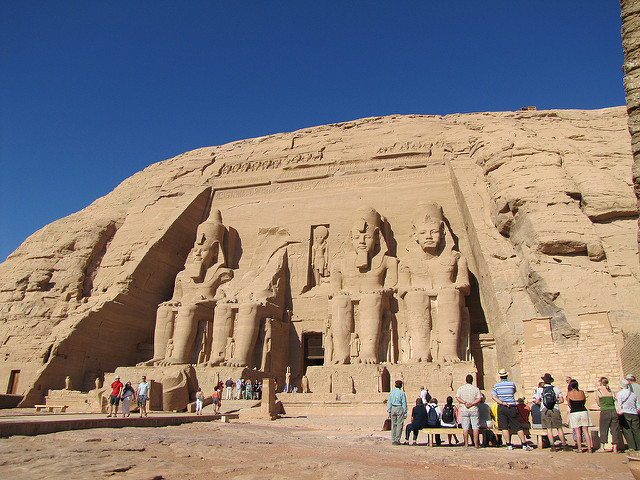 King Ramesses II Temple at Abu Simbel