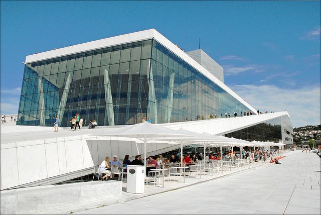 L'opéra d'Oslo (Norvège)