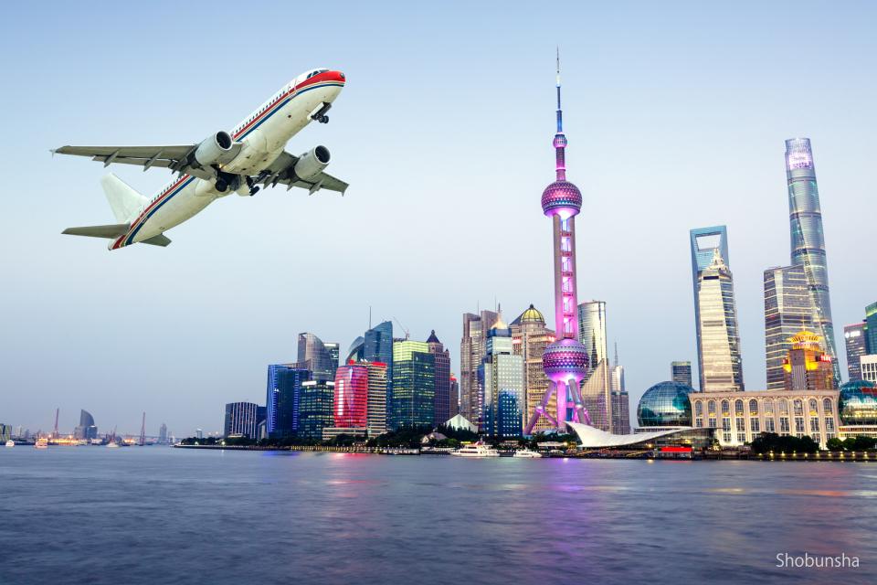 中国の交通 飛行機、鉄道、長距離バス