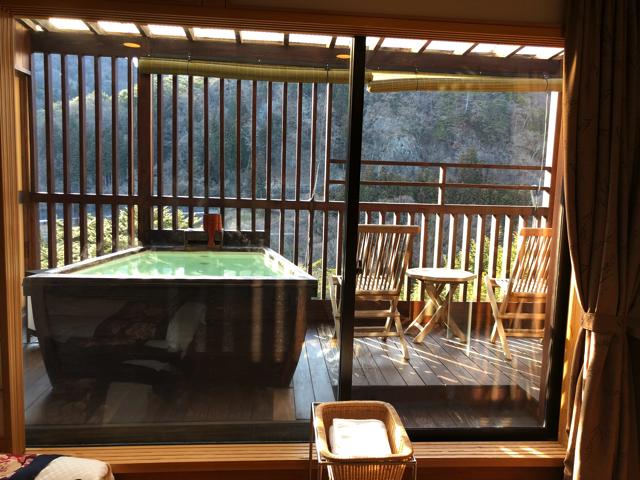 客室から窓