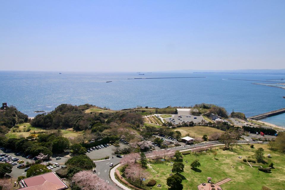 いわきマリンタワーからの眺め(福島県・いわき市)