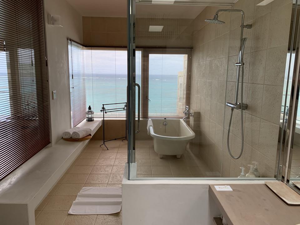 バスルーム入口から全景